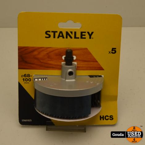Stanley STA81025 HCS Gaten Zagenset 68 - 100 mm NIEUW in verpakking