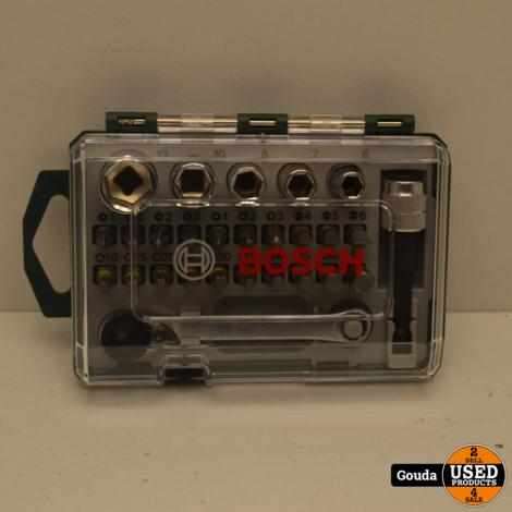 Bosch Bitset Met Mini Bitratel 1/4 27delig accessoires NIEUW in doosje
