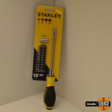 Stanley 0-62-508 10 Bits Flexibele Schroevendraaier NIEUW in blister