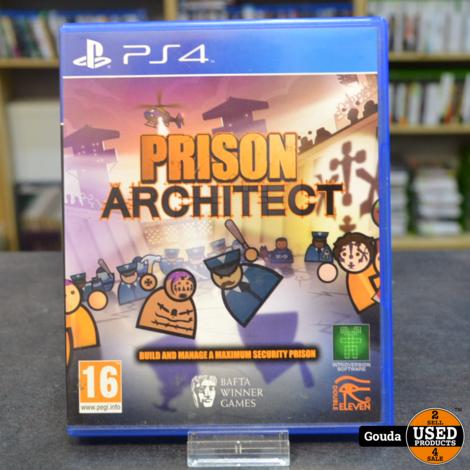 Ps4 game Prison Architect