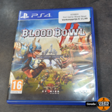 Ps4 Game Blood Bowl