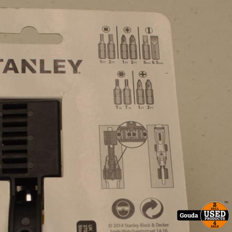 Stanley 0-68-010 Multibit Schroevendraaier 10-delig met Ratel -NIEUW