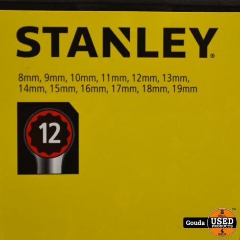 Stanley STMT82843-0 Steek/Ringsleutelset 12 Delig NIEUW in cassette
