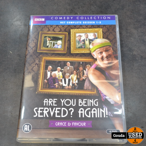 Dvd box Are you being served again en movie