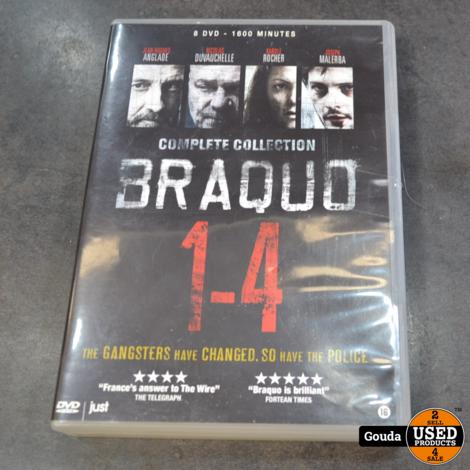 Dvd serie Braquo 1-4