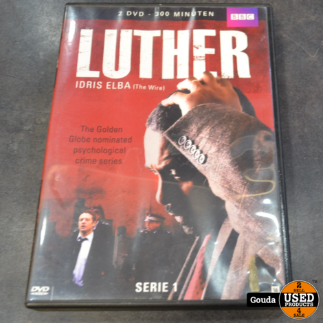 Dvd box Luther serie 1-5