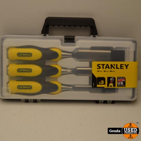 Stanley 2-16-883 Steekbeitelset 3-delig 12 mm / 18 mm / 25 mm NIEUW in koffer