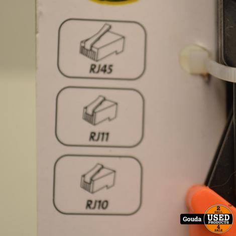 Kopp Strip-/Montagetang voor connectoren RJ10/RJ11/RJ45 NIEUW in verpakking
