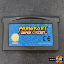 Game boy advance game Mario kart