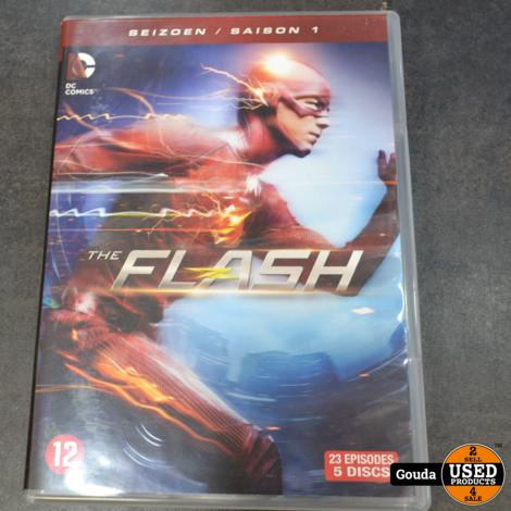 Dvd box The Flash seizoen 1-3
