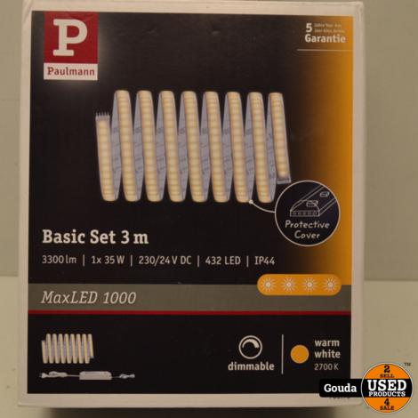Paulmann 70670 Basic set 3 meter LED strip 3300 lm NIEUW in doos