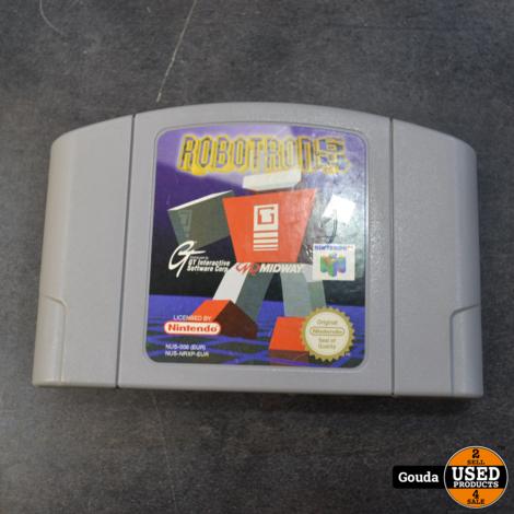 Nintendo 64 game Robotron 64