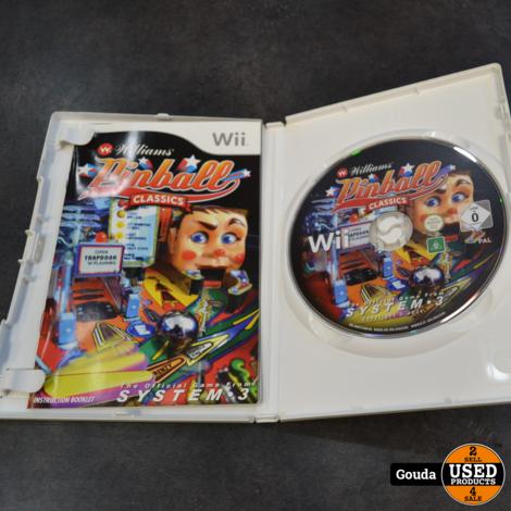 Wii game Williams  Pinball classics