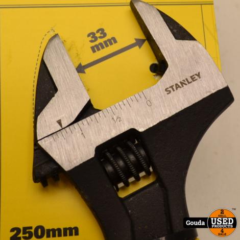 Stanley 0-90-949 Verstelbare Moersleutel 250 mm  NIEUW artikel.