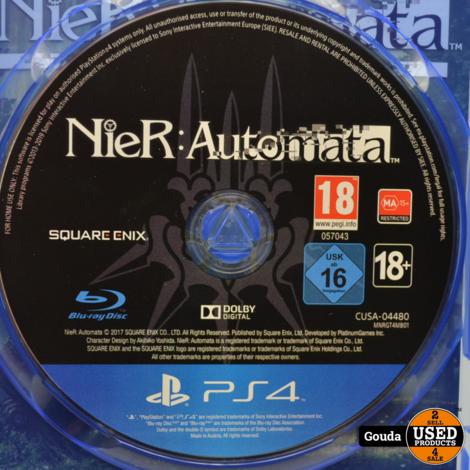 PS4 game Nier Automata