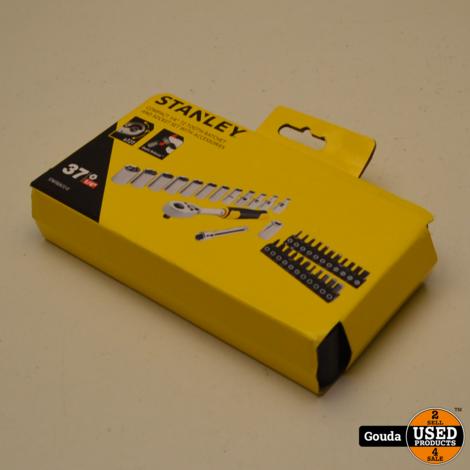 Stanley STMT82672-0  Compacte Doppenset 1/4  Ratel 72 tanden NIEUW in koffertje