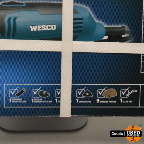 Wesco WS5507 Multitool 250 Watt NIEUW in doos met accessoires