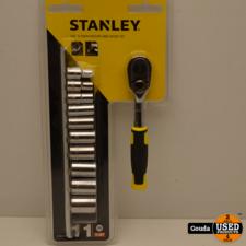 Stanley STMT82666-0  Ratelset 1/4 72 Tanden / 11-Delig NIEUW in blister