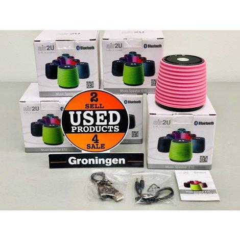 Aiptek Air2U E10 Bluetooth speaker roze | NIEUW