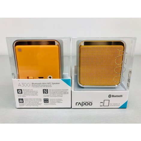 Rapoo A300 Bluetooth speaker yellow | NIEUW