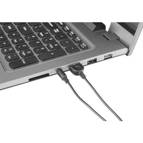 Trust 22999 Compact Speakerset Laptop en PC Zwart/Rood | NIEUW