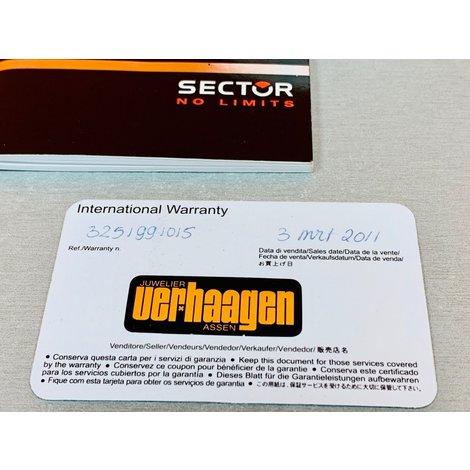Sector 280 | Chronograaf | Herenhorloge | incl. doos en papieren