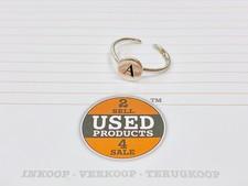 925 Zilveren ring | letter A | 1,23 gram