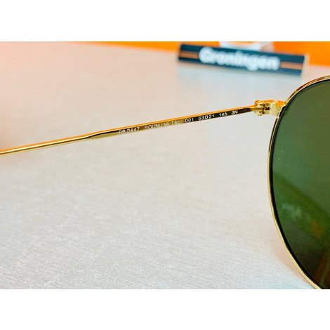Ray-Ban RB3447 Round Metal 001 53-21 zonnebril | incl. etui