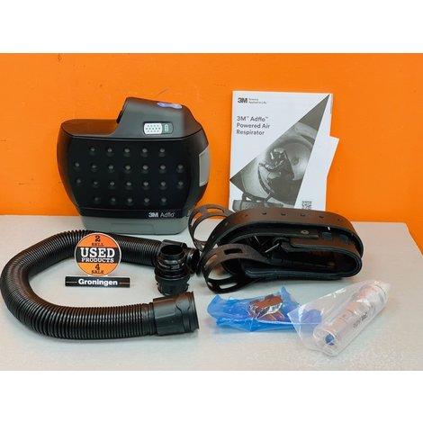 3M Adflo 837731 motorunit NIEUW IN DOOS! | incl. comfortriem, ademslang QRS 834017 en 9002 adapter | excl. accu!