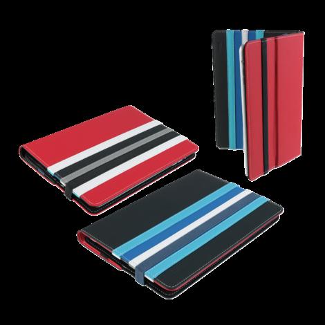 Trust 19807 Reverso Omkeerbare folio voor tablets van 7-8inch Zwart/Blauw | NIEUW