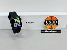 Apple Apple Watch Series 3 42mm Space Gray MTF32ZD/A   ALS NIEUW!   COMPLEET IN DOOS   Apple-garantie tot 18-09-2020