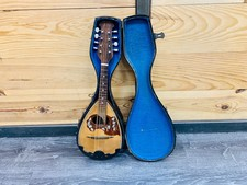 Vintage Mandoline Napolitaans model | Calmeneita | incl. koffer
