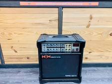 HH Electronic HH Electronic Super Sixty MosFet Twin Channel met Reverb gitaarversterker