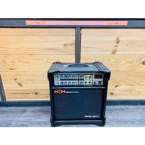 HH Electronic Super Sixty MosFet Twin Channel met Reverb gitaarversterker