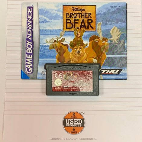 [GBA] Brother Bear + The Lion King | AGB-BLBX-EUR | incl. boekje