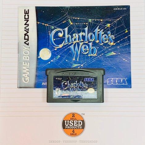 [GBA] Charlotte's Web | AGB-BCJE-USA | incl. boekje