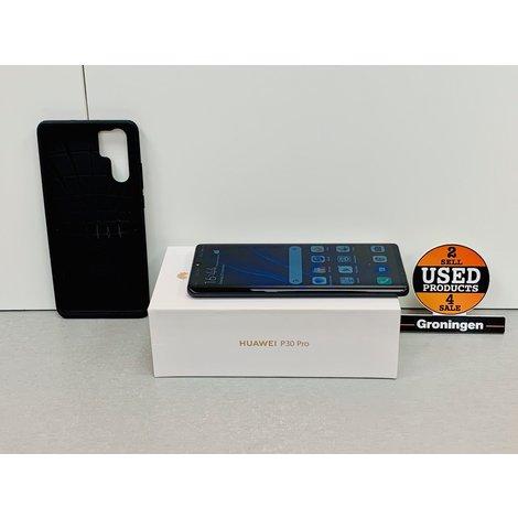 Huawei P30 Pro 128GB Black | NIEUWSTAAT! | COMPLEET IN DOOS | nota (25-11-2019)