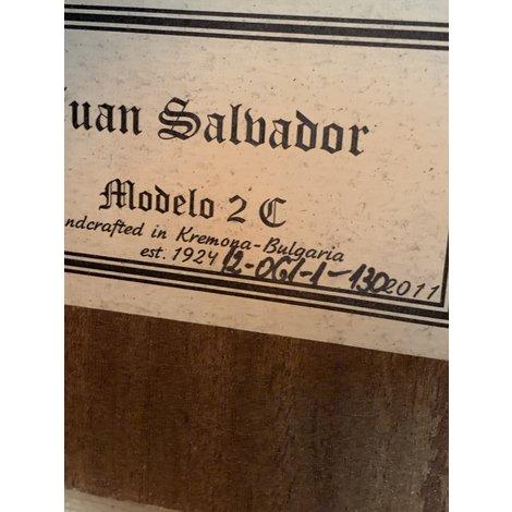 Juan Salvador Modelo 2C Klassieke Gitaar