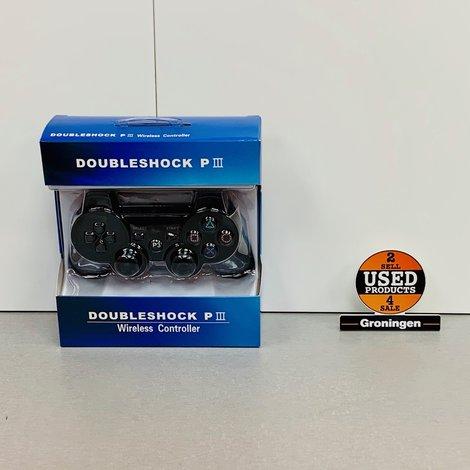 PS3 Controller draadloos voor PlayStation 3 (PS3) - Zwart