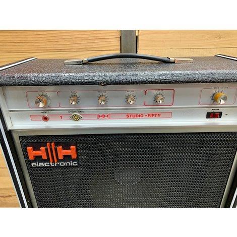 HH Electronic Studio Fifty Combo 112 gitaarversterker met Reverb