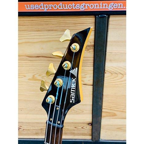 Samick Artist Series basgitaar | 4-snarig | incl. gitaartas