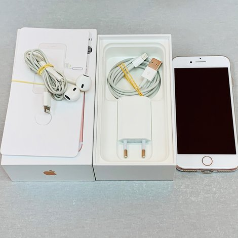 Apple iPhone 7 32GB Rose Gold + Cover | COMPLEET IN DOOS