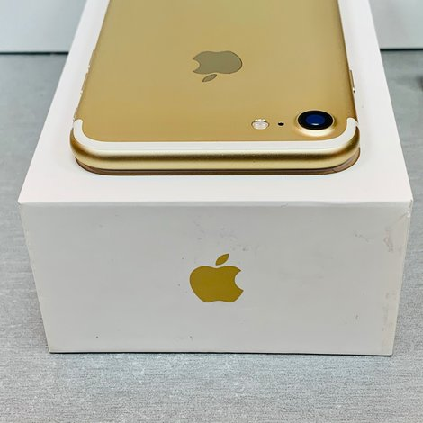 Apple iPhone 7 32GB Gold | NIEUWE ACCU | incl. Cover, lader, boekjes en doos