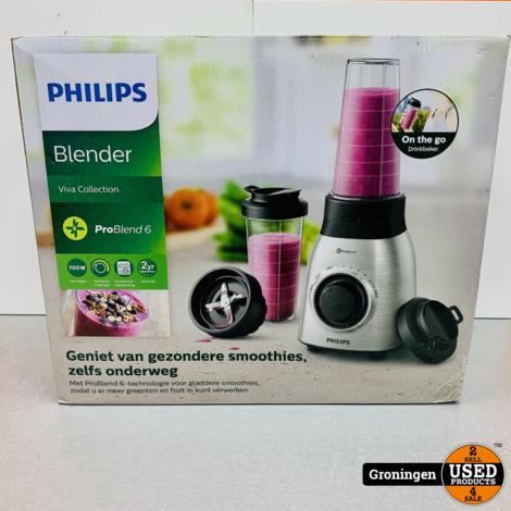Philips HR3554/00 Viva Metal Blender | NIEUW!
