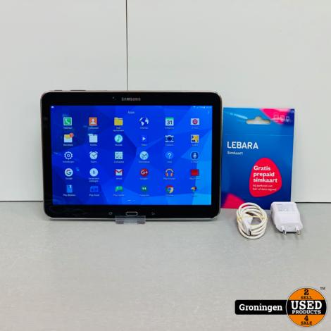 Samsung Galaxy Tab 4 10.1 T535 16GB WiFi + 4G Black | incl. lader