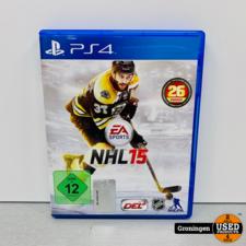 PlayStation 4 [PS4] NHL 15 | Duitse kaft, Game Engels