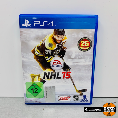 [PS4] NHL 15 | Duitse kaft, Game Engels