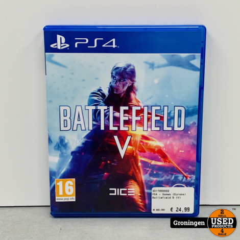 [PS4] Battlefield V / Battlefield 5 (English/Arabic Box)