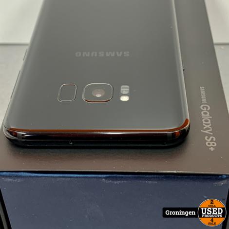 Samsung Galaxy S8 Plus G955 Midnight Black   incl. accessoires en doos