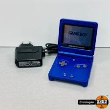 Nintendo Nintendo GameBoy Advance SP AGS-001 Blauw | incl. lader